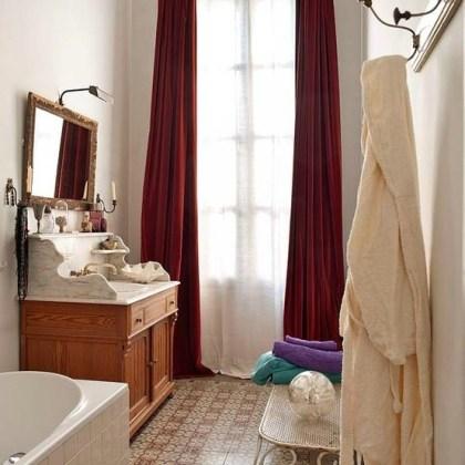 Perchero baño, foto vía Etxecodeco