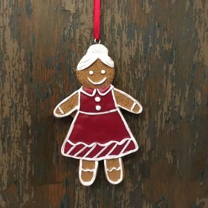 Adorno Navidad Galleta Muñeca