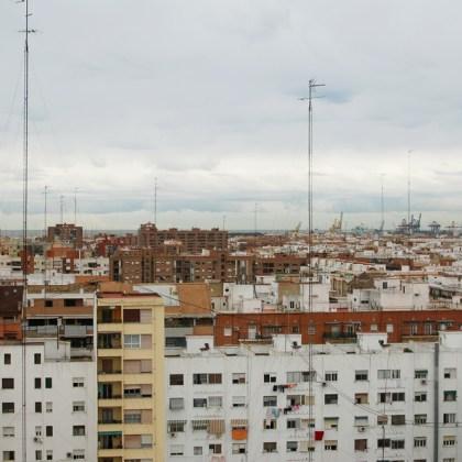 Decoración Valencia - Salón Ático Calle Bélgica