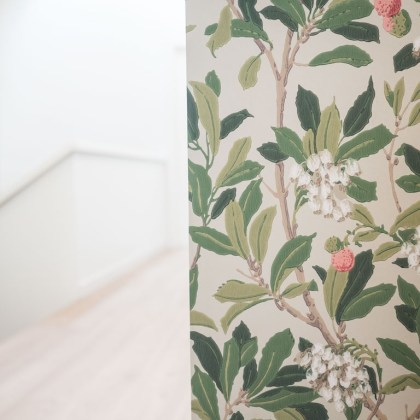 Papel Pintado vegetal strawberry