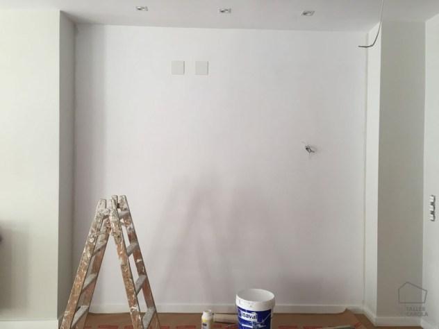 Colocación Papel Pintado Entrada