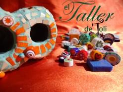 Lapicero con detalles en murrinas italianas