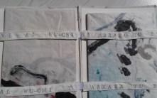 Llibre d'artista únic que conté dues estampes de 100x70 impreses amb monotip i punta seca.