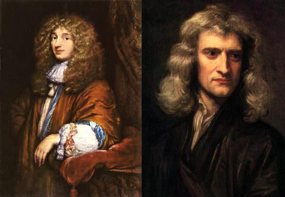 Huygens y Newton