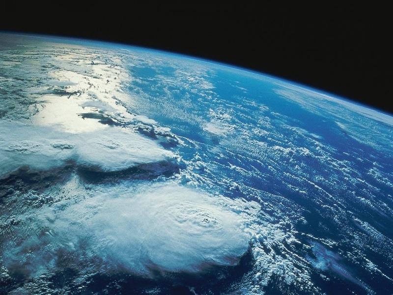Planeta Tierra pequeño
