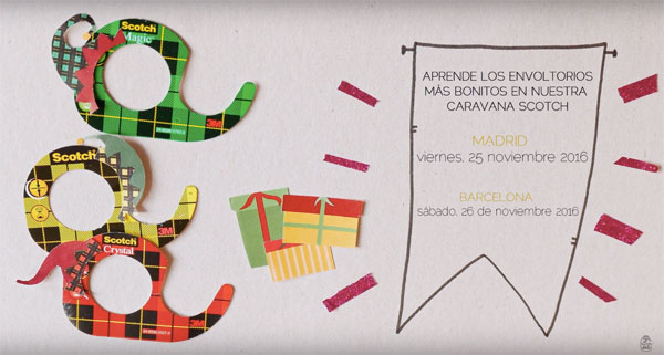 empaquetado packaging regalo taller gratis gratuito curso madrid manualidades diy
