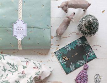 regalo navidad diy repostería magdalenas envoltorio packaging presentación