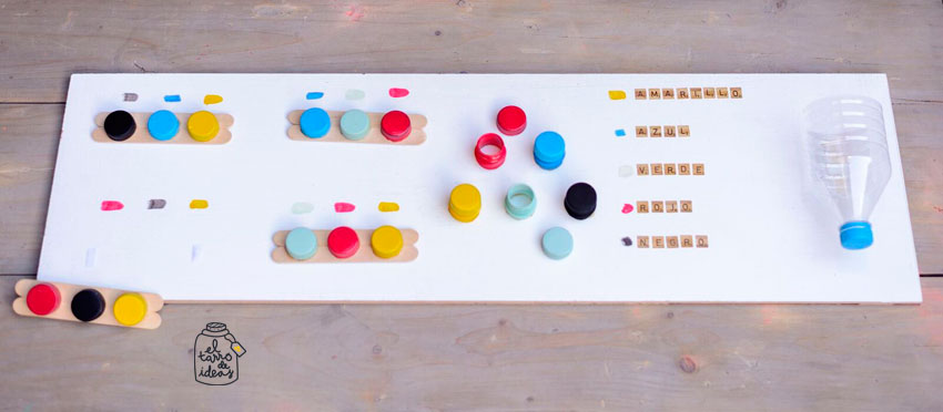 colores, series, aprender jugando, juego, niños, infantil, tutorial, creatividad