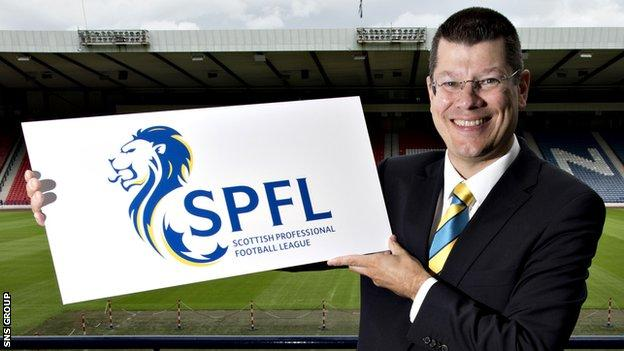 Neil Doncaster is the Scottish Professional Football League chief executive