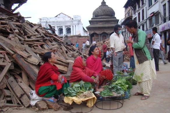 Vendors selling