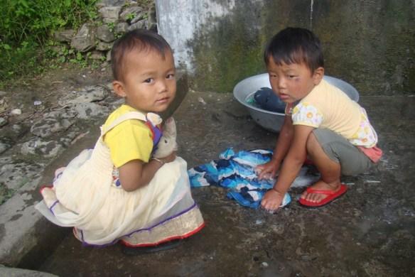 Children at fun