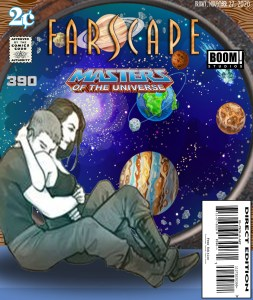 Fan Photoshop Edit Comic Cover of Farscape Masters