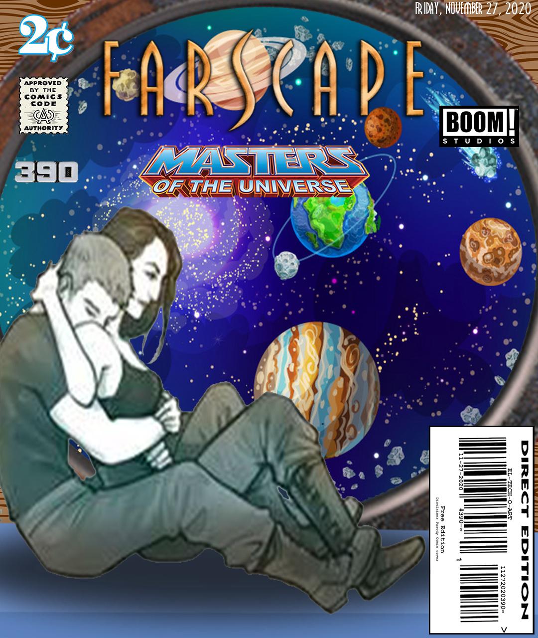 Fan Photoshop Edit Comic Cover of Farscape Masters