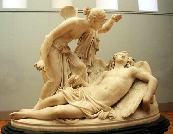 La historia de amor de Eros y Psique (1/2)
