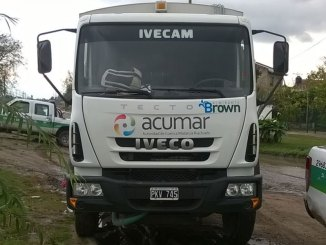 Camion de Acumar