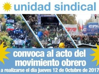 acto movimiento obrero