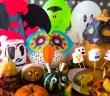 Masken, Canon, Creativpark, Geburtstag, Halloween, Grusel, Monster, Geister, Vampire, Hexen, Geburtstagsparty, basteln, Licht, Knicklichter, Dekoration, neon, dunkel, leuchten, Kürbisse, Marshmellows