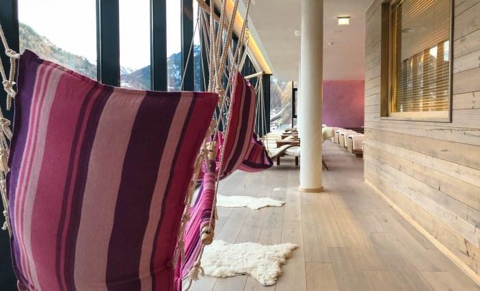 Bergland Hotel Sölden Wellness Spa Ruhe Raum Panorama Gallery