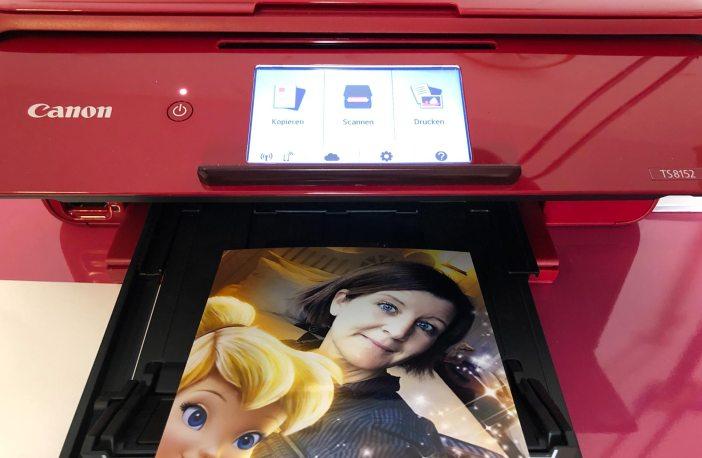 Canon Pixma Drucker printyourstory printathome silvester Tischbombe basteln fotos ausdrucken