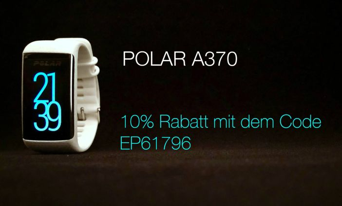 Polar 370, Pulsuhr, Pulsmessung, Fitness, Sport, Sportuhr, Fitnesstracker, Schlafmodus, Schrittezähler, Brack, brack.ch, Rabattcode, 10%