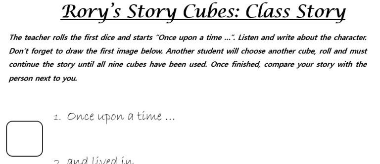 Class Story Template