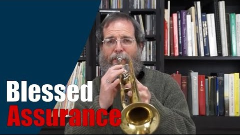 Blessed Assurance Hymn on Trumpet