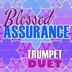 Blessed Assurance Trumpet Hymn Duet Sheet Music PDF Cover Art Shop Image
