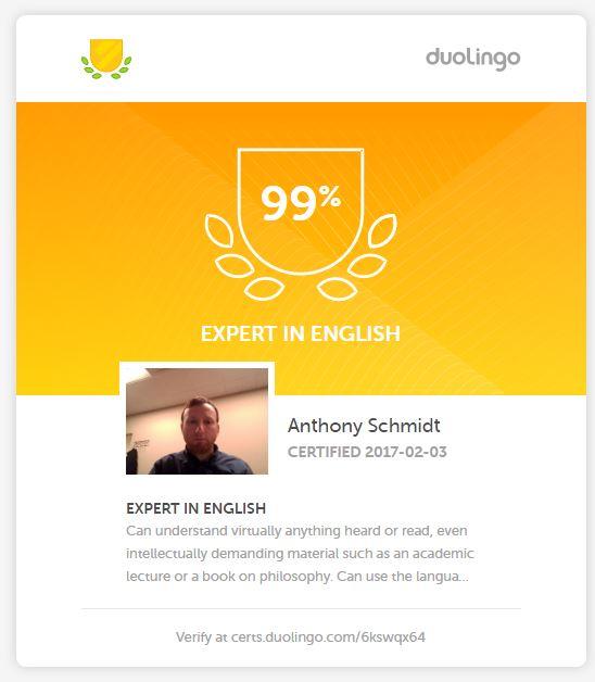 Duolingo Englisch Test