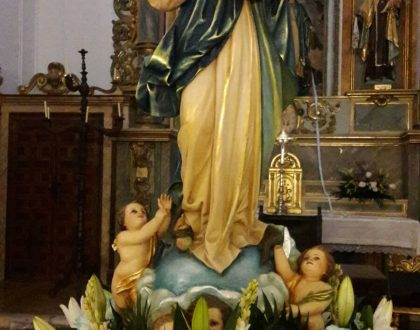 «Gran Vigilia de la Inmaculada» en El Toboso