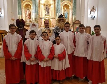 La Parroquia de El Toboso celebra con varios actos el «Día de Reyes Magos»