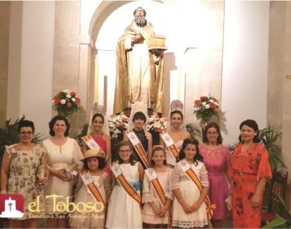 El Toboso honra a San Agustín en el día principal de su Feria y Fiestas 2018