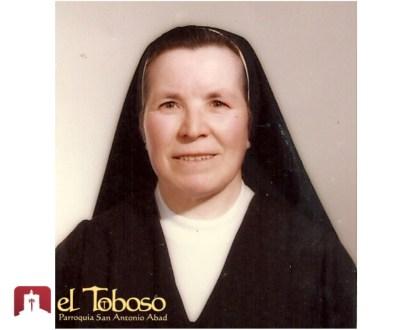 Fallece en Santa Clara de Antequera Sor María de la Purificación, natural de El Toboso