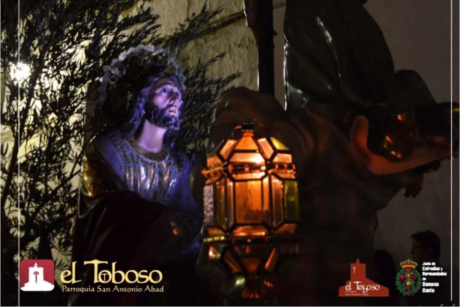 Cartel y Programa Oficial Semana Santa 2019 de la Parroquia de El Toboso
