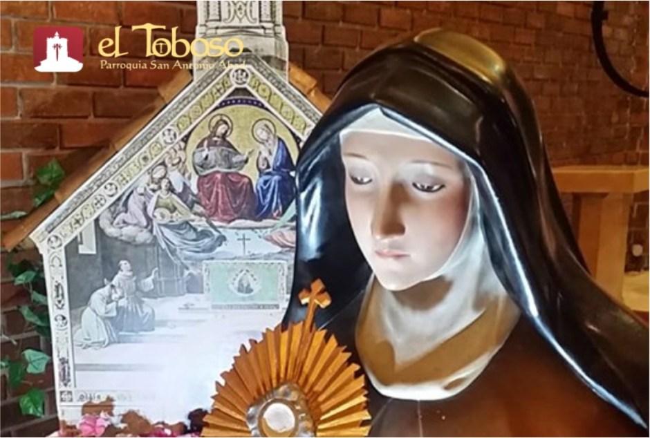 Varios actos y celebraciones para la Festividad de Santa Clara de Asís en El Toboso