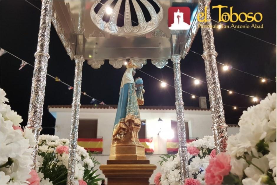 Un programa lleno de celebraciones religiosas y actos populares para festejar a la «Virgen Morenita de El Toboso»