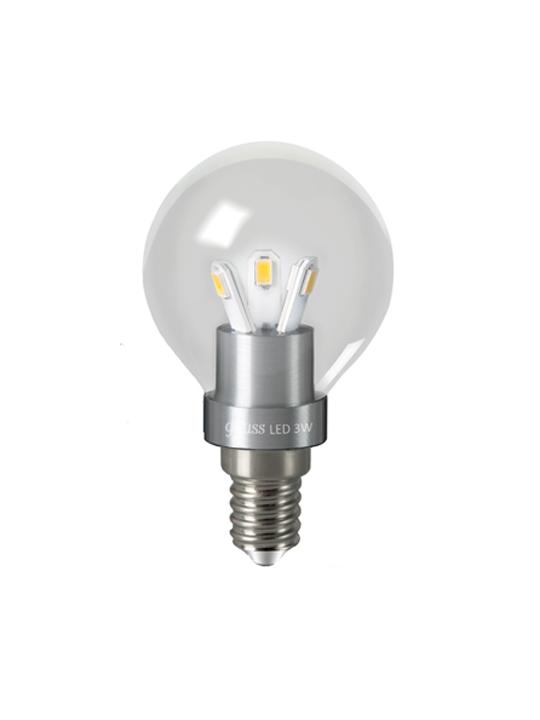 Gauss 3W E14 220V P45 250lm 2700K LED sijalica