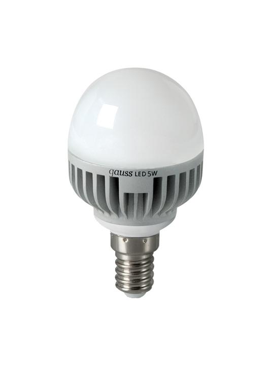 Gauss 5W E14 220V T45 490lm 4100K LED sijalica