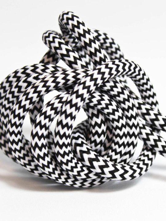 Nud ZEBRA SKIN tekstilni kabl - ND G3TT90