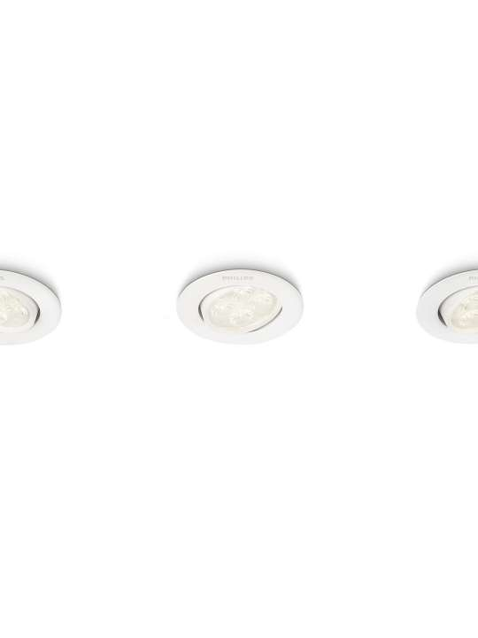 Philips ALBIREO 2700K ugradna lampa - 45090/31/16