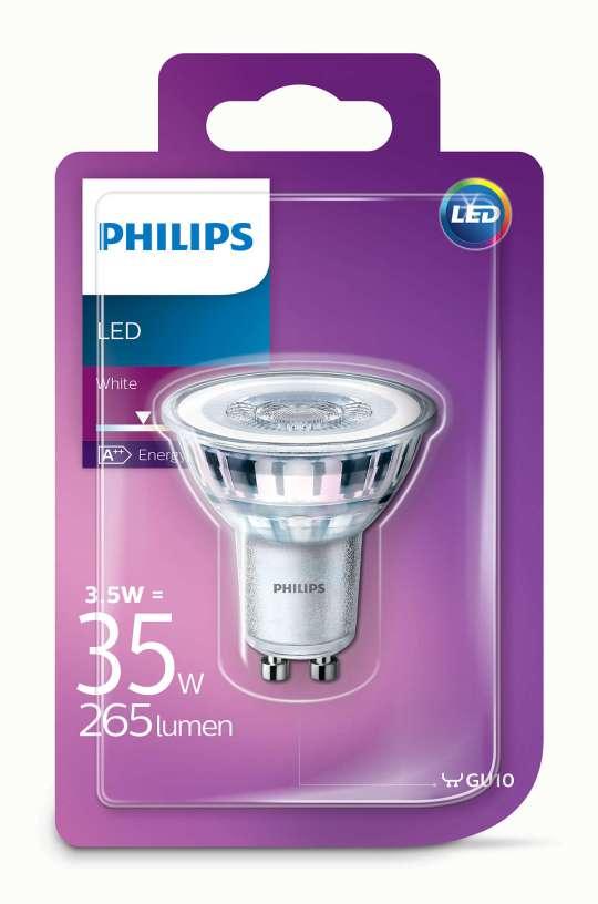 PHILIPS 3.5W GU10 220V 36* 265lm 3000K GLASS CLASSIC CORE PRO LED sijalica - 00106 00 000