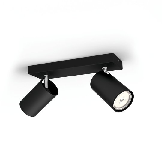 PHILIPS KOSIPO 2xGU10 CRNA spot lampa - 5059230PN - 2