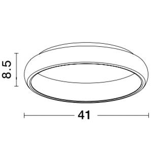 NOVA LUCE ALBI plafonjera - 8105605D - 1