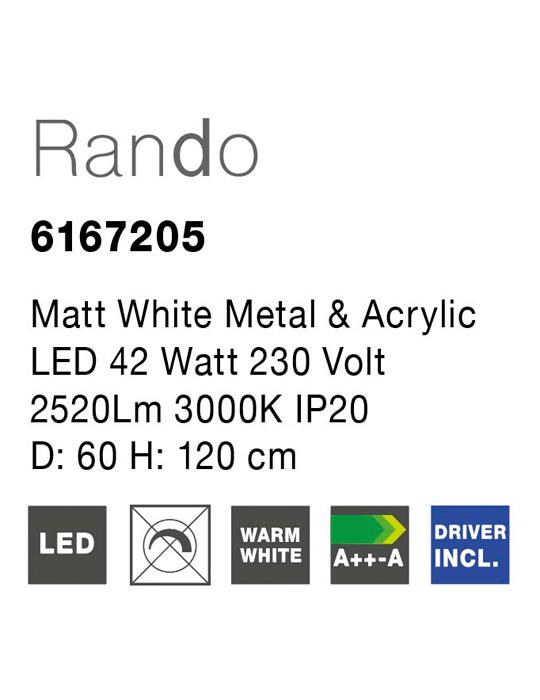 NOVA LUCE RANDO luster - 6167205 - 2