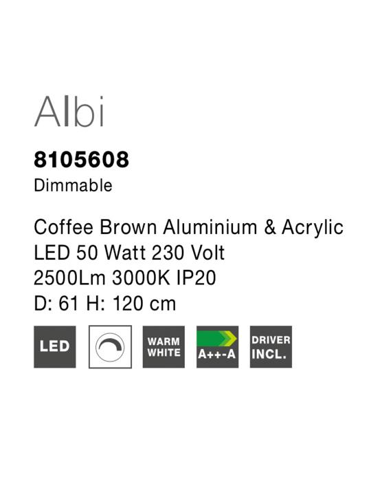 NOVA LUCE ALBI luster - 8105608