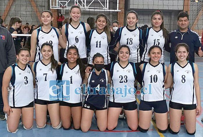El conjunto femenino de Unión Voley de San Felipe será el representante regional en los Juegos Binacionales.