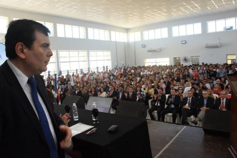 En el cierre del ciclo lectivo el Gobernador Inauguró cinco establecimientos educativos en el Dpto. Río Hondo