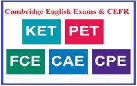 Cambridge English exams and CEFR