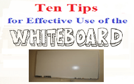 Tips for Effective Use of the Board in Teaching EFL