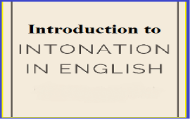 introduction to intonation in English