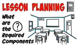 five components of a lesson plan